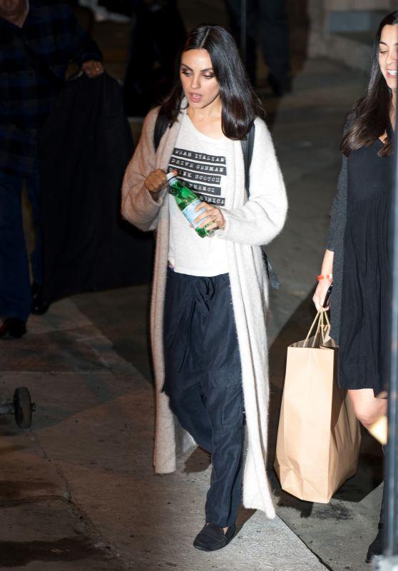 Mila Kunis - Leaving the Studio in LA 11/19/2018