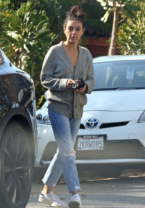 Mila Kunis - Out in LA 11/28/2018