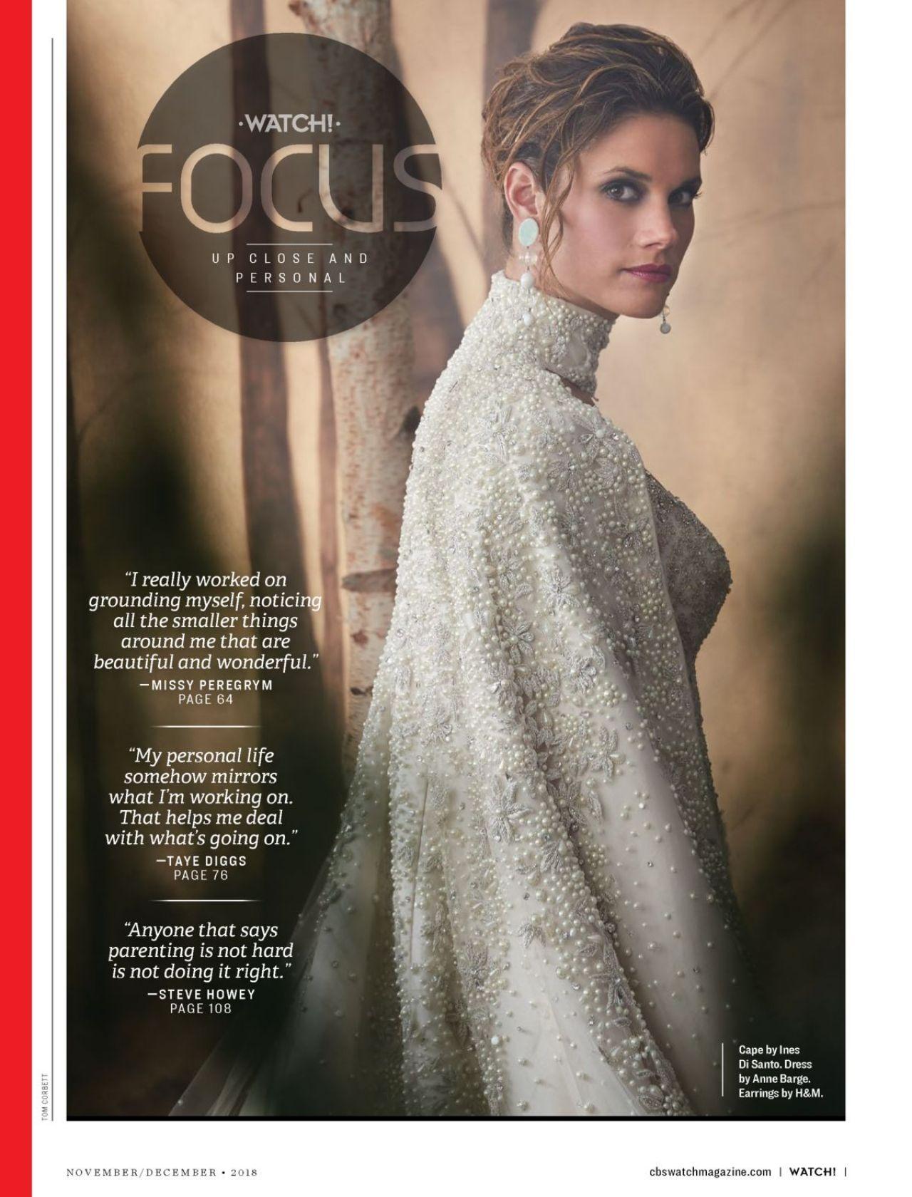 Missy Peregrym Watch Magazine November December 2018