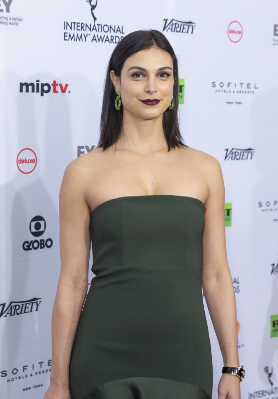 Morena Baccarin – 2018 International Emmy Awards in NYC