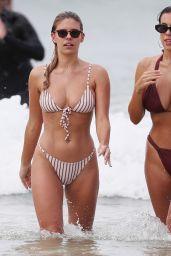 Natasha Oakley and Devin Brugman in Bikinis on Bondi Beach in Sydney 11/02/2018