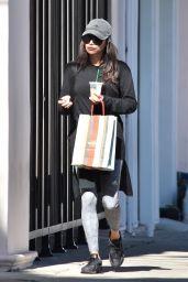 Naya Rivera - Shopping in Studio City 11/13/2018