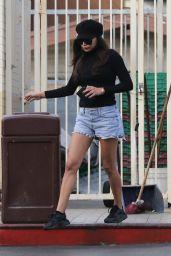 Naya Rivera - Stops for Gas in LA 11/19/2018