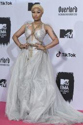 Nicki Minaj – MTV EMA's 2018 in Bilbao