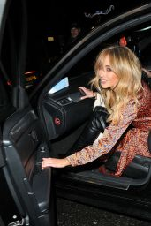 Nicola Hughes - Arrives at The Never Fully Dressed VIP Festive Dinner in London