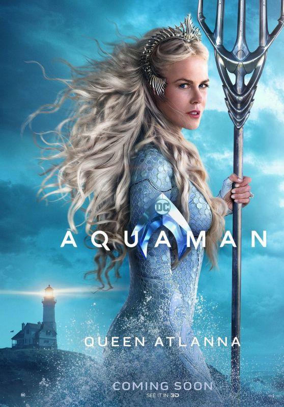 "Nicole Kidman - ""Aquaman"" Promotional Photos and Posters"