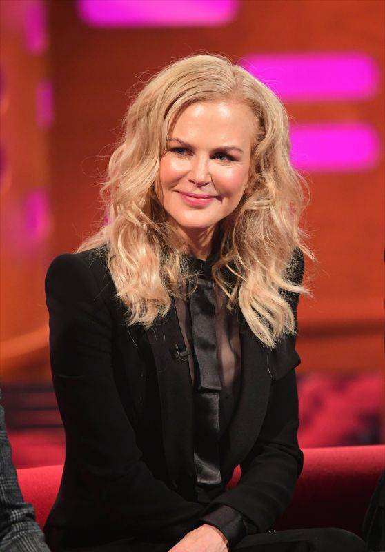Nicole Kidman - Graham Norton Show 11/22/2018