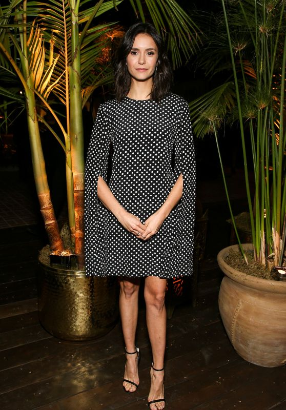 Nina Dobrev - Michael Kors x Kate Hudson Dinner in LA 11/07/2018