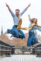 "Ola Jordan - ""Mamma Mia! Here We Go Again"" Blu-ray DVD Release in Southbank London"