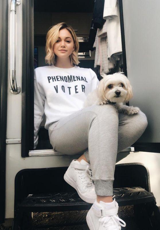 Olivia Holt - Personal Pics 11/06/2018
