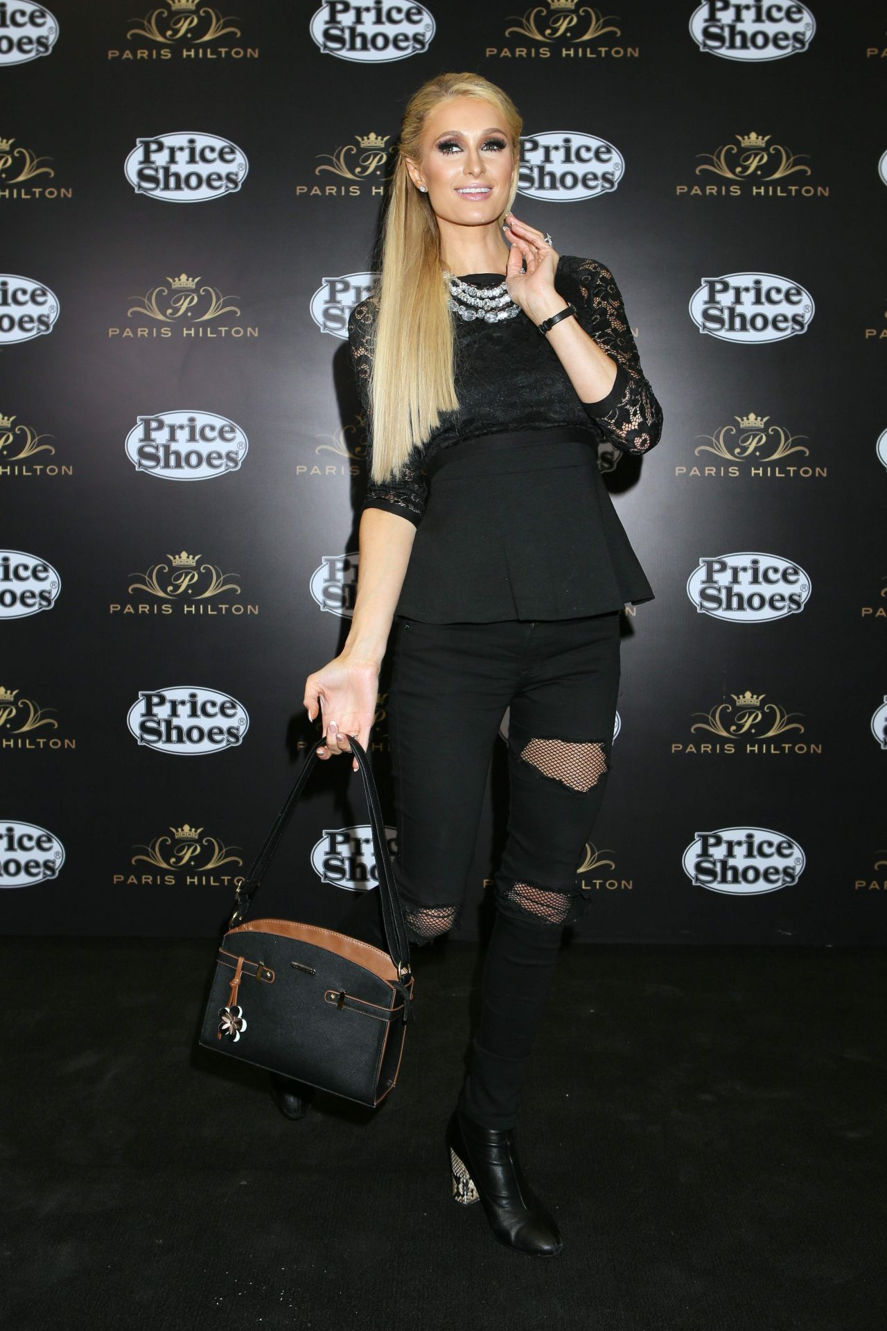 Paris Hilton Launch Of Her New Clothes And Shoes