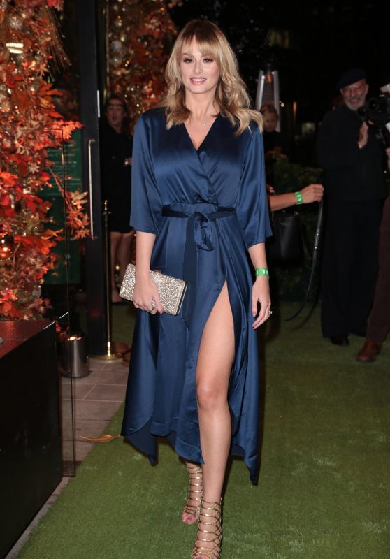 Rhian Sugden - Arrives at the Ivy Restaraunt Launch in Manchester