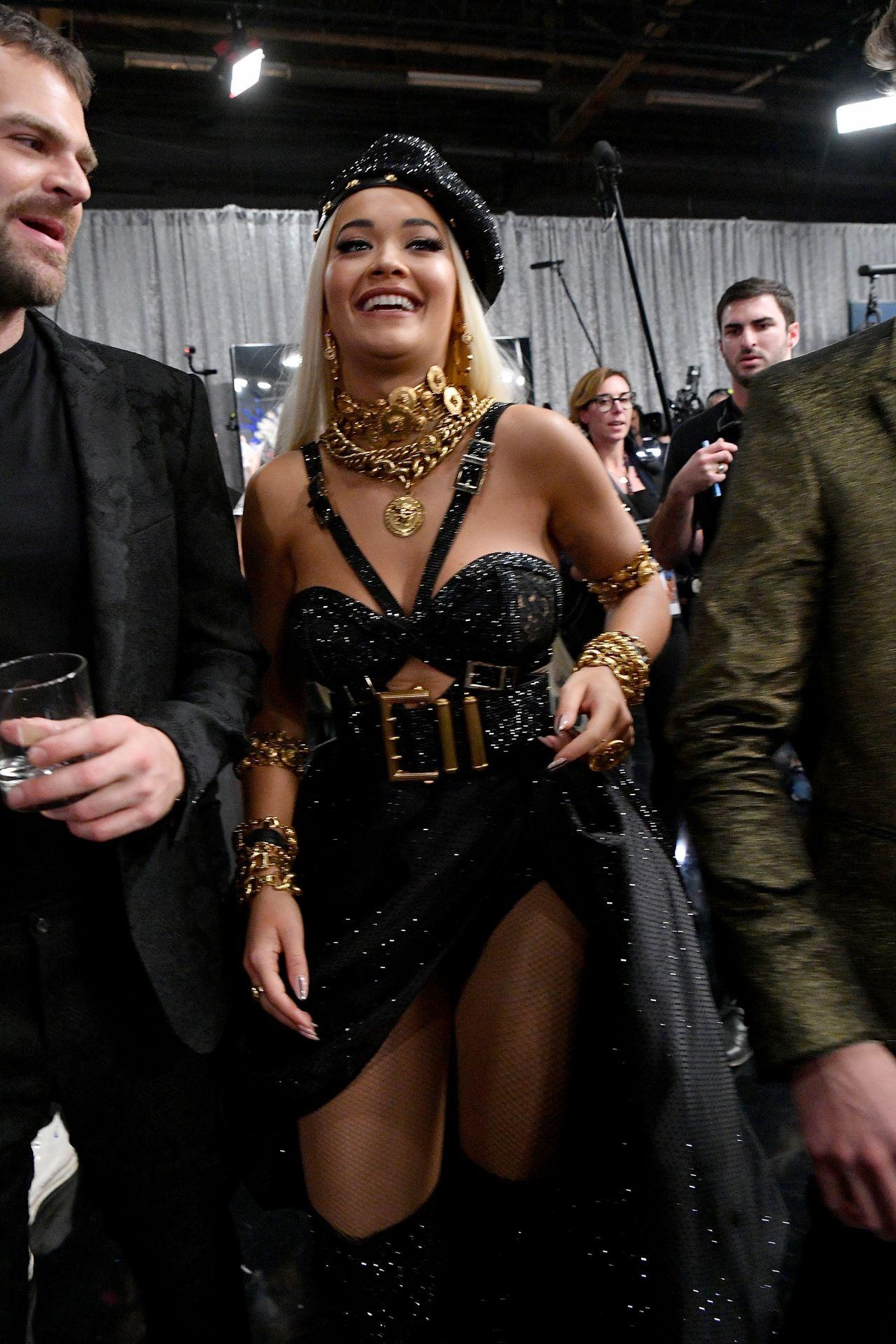 Rita Ora 2018 Victoria S Secret Fashion Show Backstage