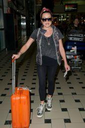 Rita Simons - Arriving at Brisbane Airport 11/12/2018