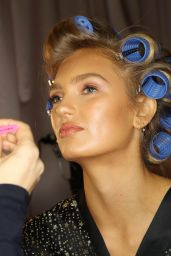Romee Strijd – 2018 Victoria's Secret Fashion Show Backstage in NYC