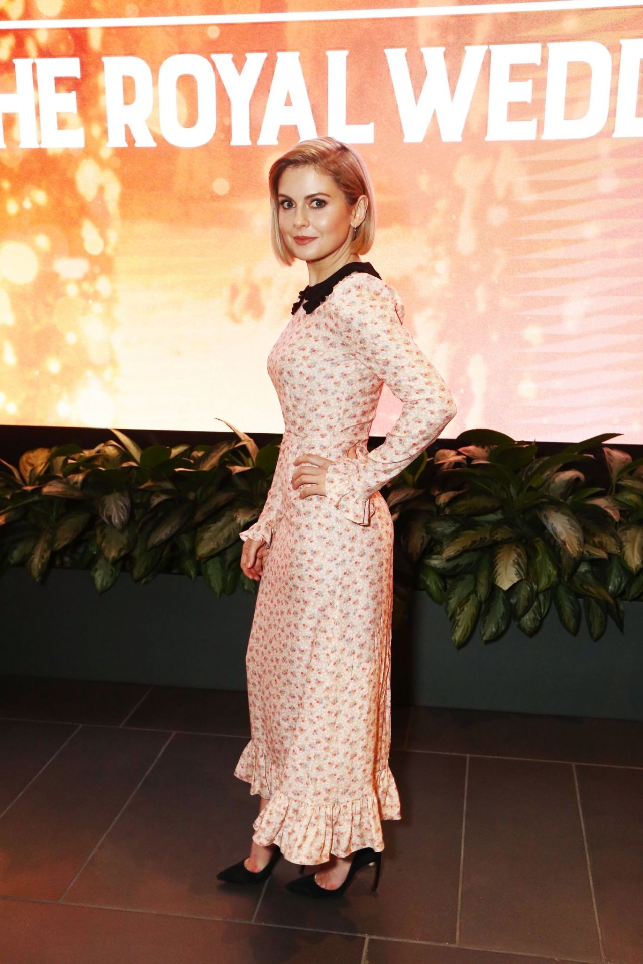 """Rose McIver - """"A Christmas Prince: The Royal Wedding"""" Special Screening in LA"""