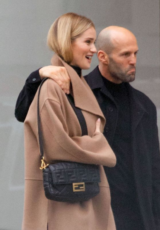 Rosie Huntington-Whiteley and Jason Statham - Out in London 11/24/2018