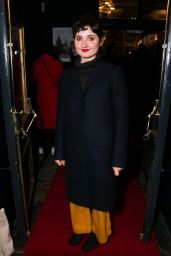 "Ruby Bentall - ""Summer and Smoke"" Play Press Night in London"