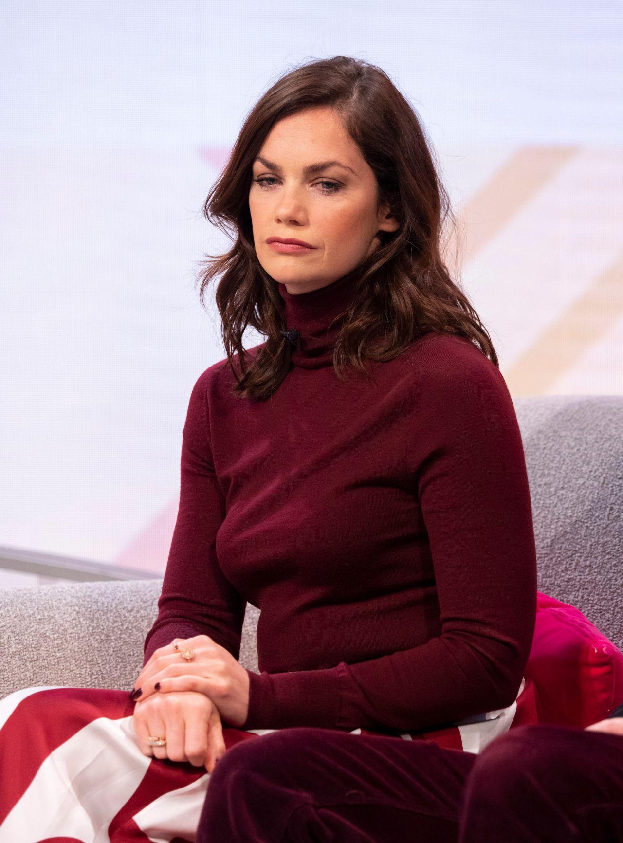 Ruth Wilson - Lorraine TV Show in London 11/26/2018