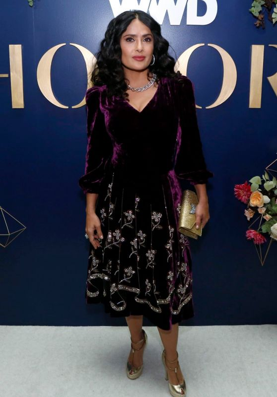 Salma Hayek - 2018 WWD Honors in New York