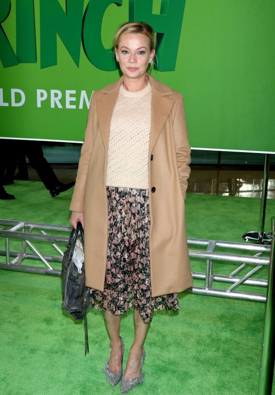 "Samantha Mathis – ""The Grinch"" Premiere in New York"