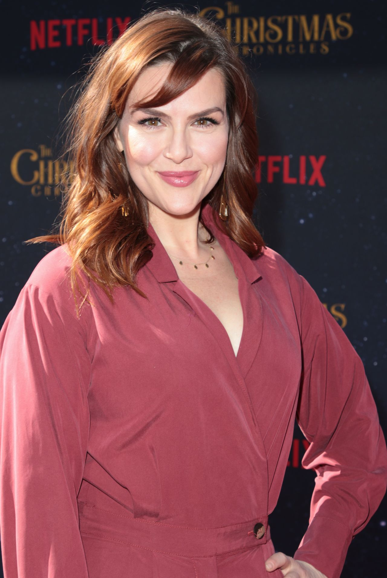 A Christmas Chronicles.Sara Rue The Christmas Chronicles Premiere In La