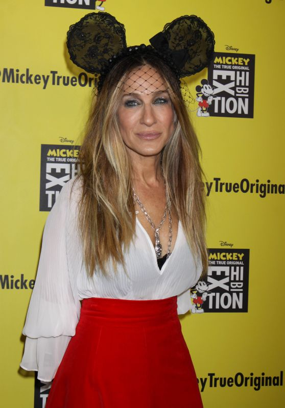 "Sarah Jessica Parker - ""Mickey: The True Original Exhibition"" Grand Opening in NY"