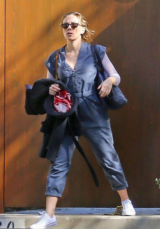 Scarlett Johansson - Arriving at Disney Studios in Burbank 11/13/2018