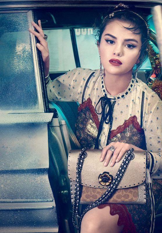 Selena Gomez - Coach 2018 Holiday Campaign