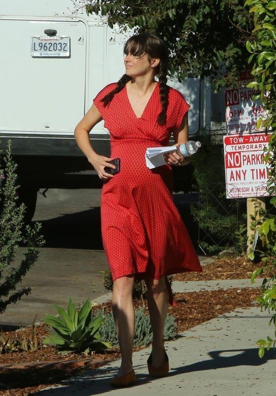 Shailene Woodley - Untitled Drake Doremus Project Set in LA 11/26/18