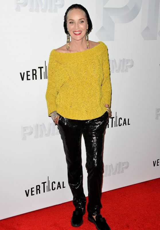 "Sharon Stone - ""Pimp"" Premiere in Los Angeles"