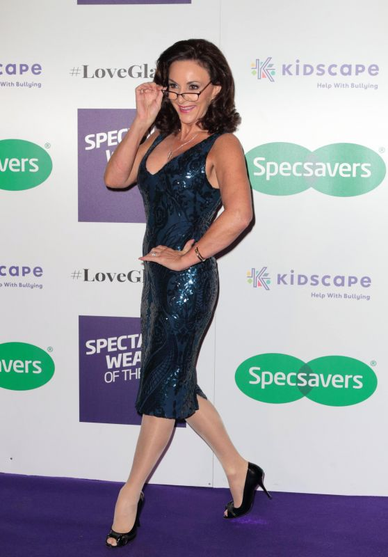 Shirley Ballas - 2018 Specsavers Spectacle Wearer of the Year in London