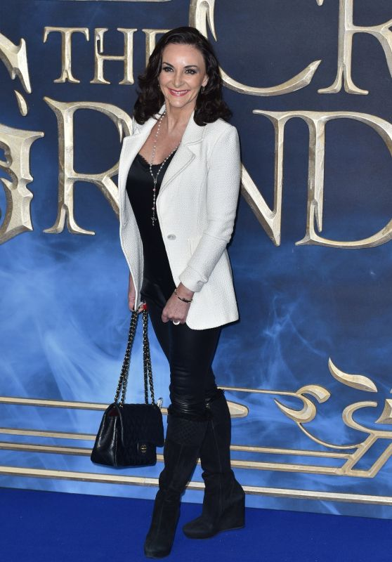 "Shirley Ballas - ""Fantastic Beasts: The Crimes of Grindelwald"" Premiere in London"