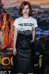 """Sierra McCormick – """"Mowgli"""" Premiere in Hollywood"""