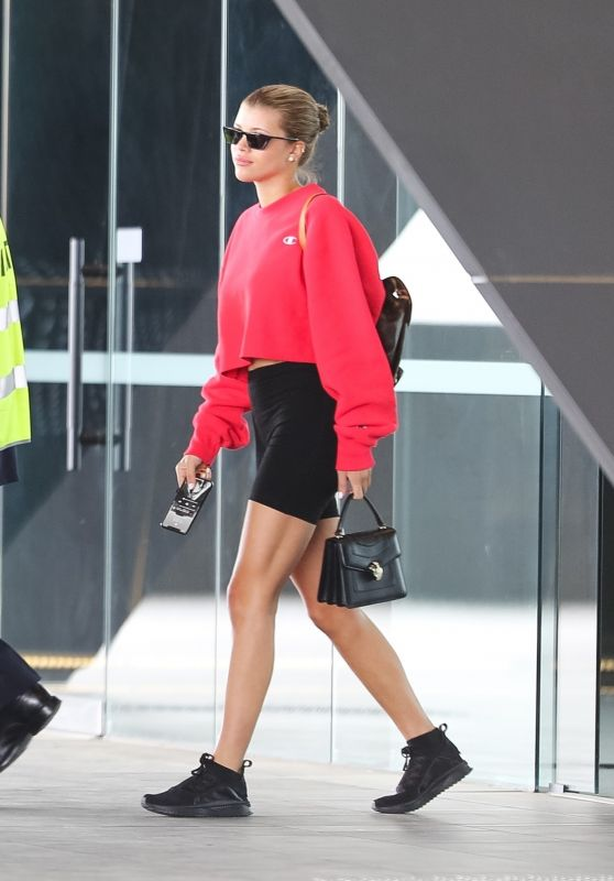 Sofia Richie - Arriving in Melbourne 11/01/2018