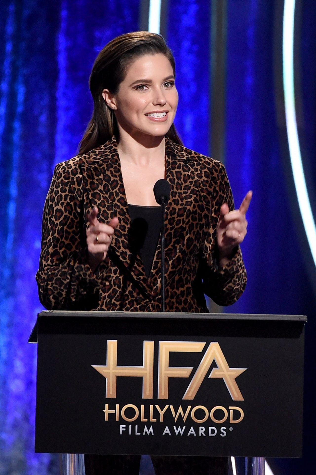 Sophia Bush 2018 Hollywood Film Awards