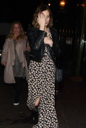Sophie McShera, Joanne Froggatt and Laura Carmichael at the Soho House in London 11/17/2018