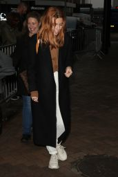 Stacey Dooley - Arriving at The Big Blue Hotel in Blackpool 11/15/2018