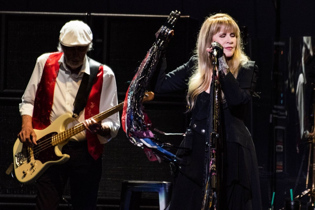 Stevie Nicks Fleetwood Mac Performs In San Jose 11 21 2018