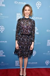 Taissa Farmiga - Rising Star Showcase at 2018 Napa Valley Film Festival 11/10/2018
