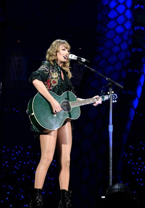 Taylor Swift Performs at Reputation Stadium Tour in Tokyo