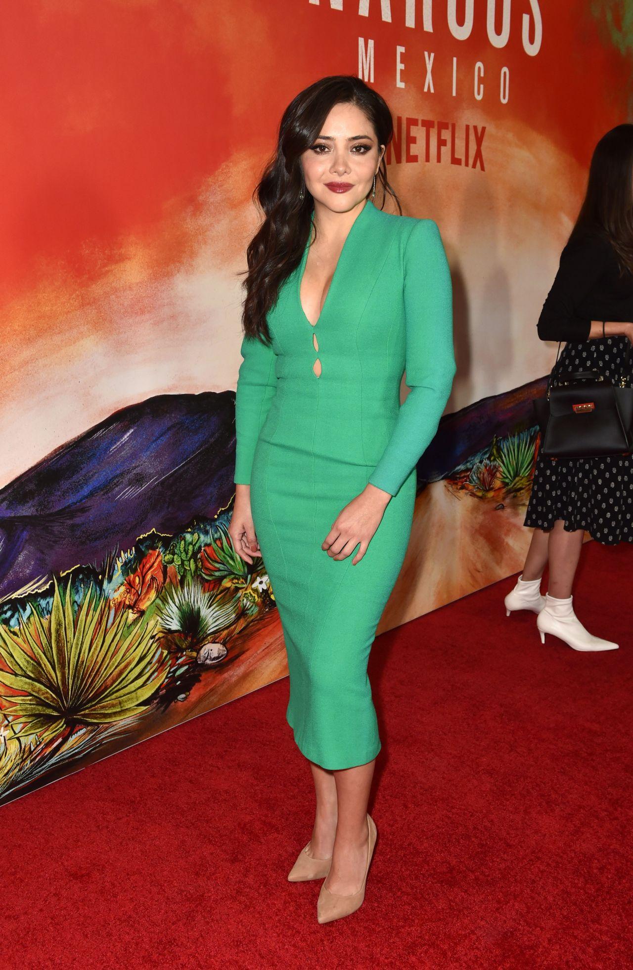 Teresa Ruiz Narcos Mexico Season 1 Premiere In Los