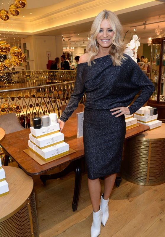 "Tess Daly - ""Trust Collection"" Launch in London"