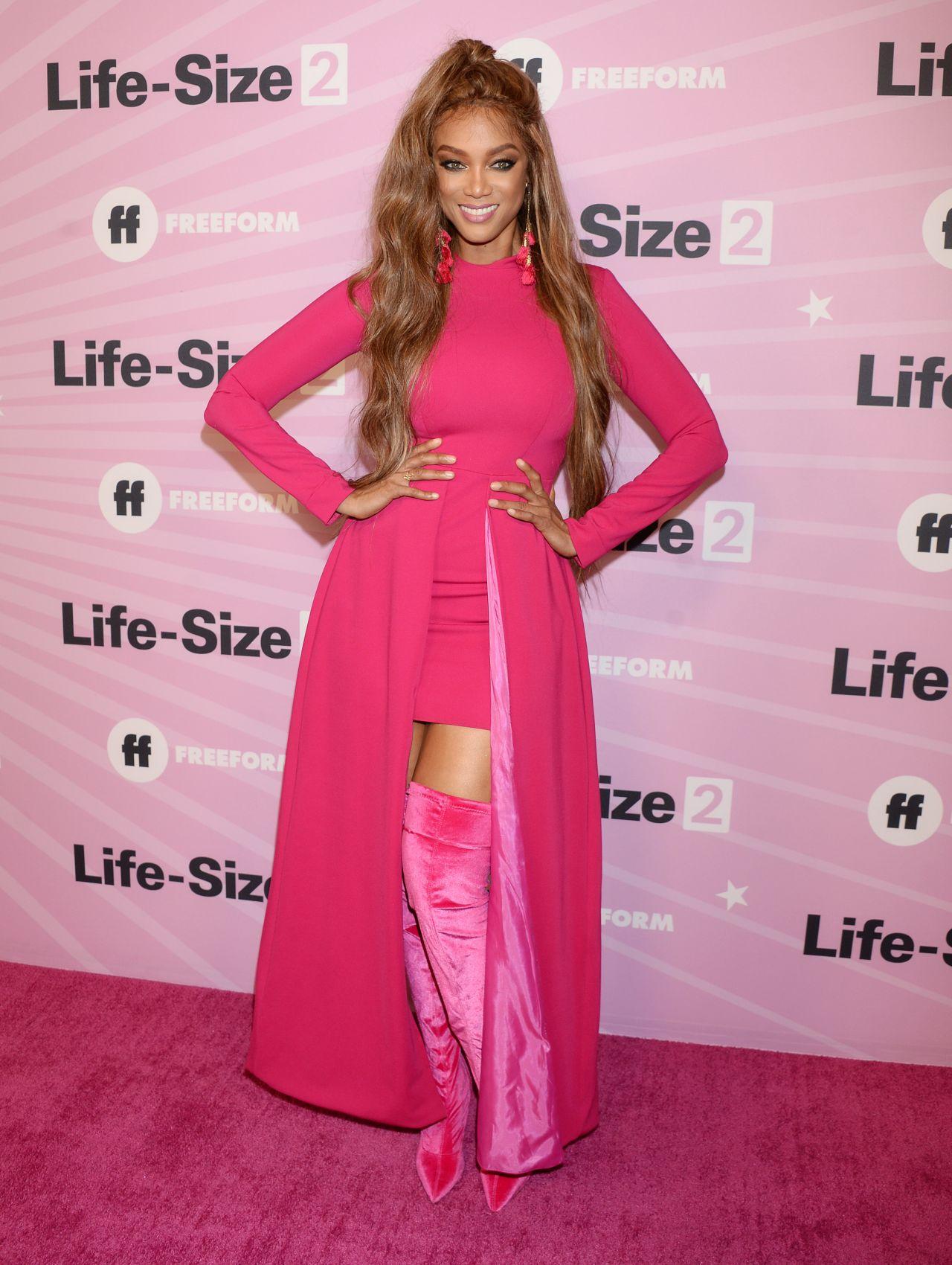 Tyra Banks Life Size 2 Premiere In La