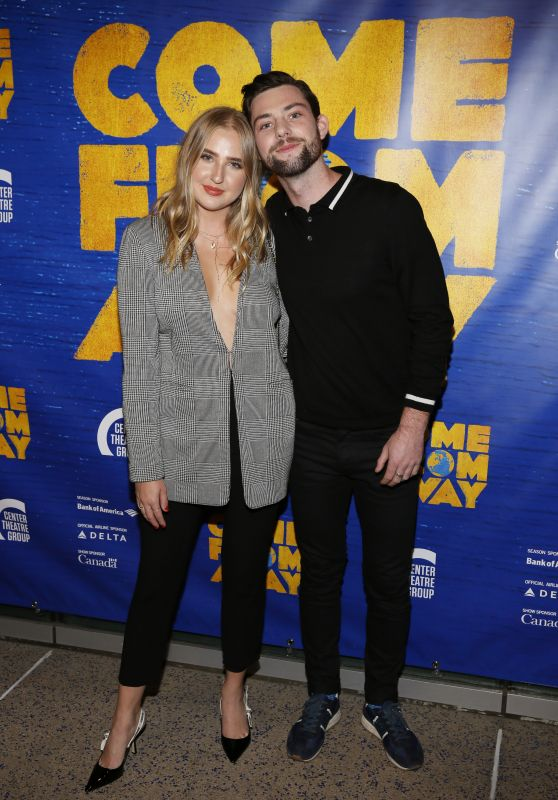 """Veronica Dunne – Opening Night Performance of """"Come From Away"""" in LA 11/28/2018"""