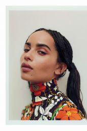 Zoë Kravitz - Elle UK December 2018 Cover and Photos