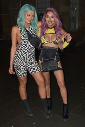 Abbie Holborn and Zahida Allen Night Out in Newcastle 12/26/2018