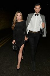 Abigail Clarke and Juanid Ahmed Night Out - Sheesh 12/19/2018