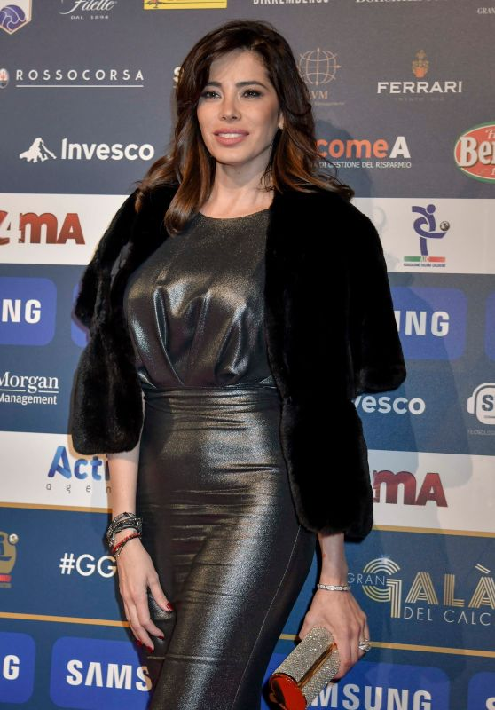Aida Yespica – Gran Gal of Football in Milan