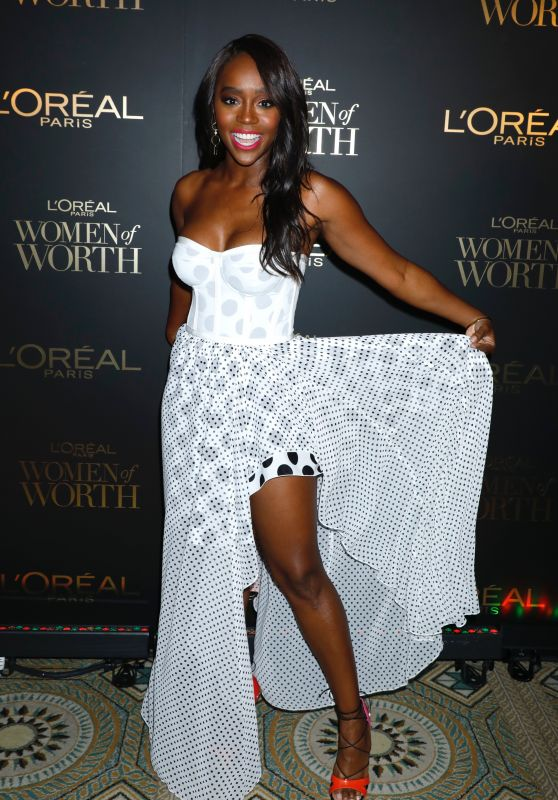 Aja Naomi King – 2018 L'Oreal Women of Worth Awards in NY